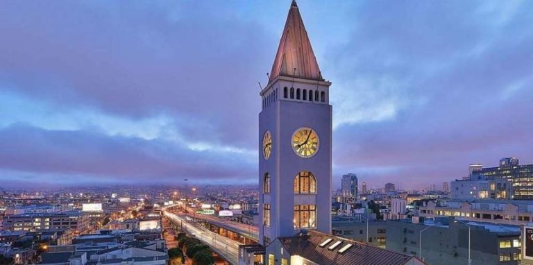 clock tower penthouse apartment SoMa