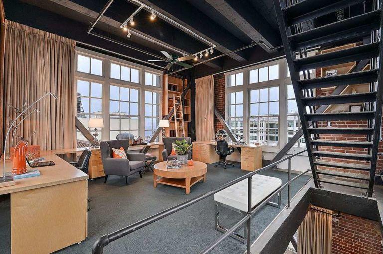 inside clock tower penthouse apartment