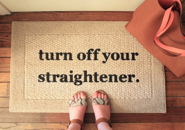Use reminders in unexpected places. It's fun and useful. Image Source: Good Housekeeping