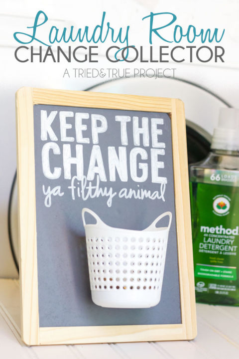 Change in the pocket is cool, but not inside the washing machine. Image Source: Good Housekeeping