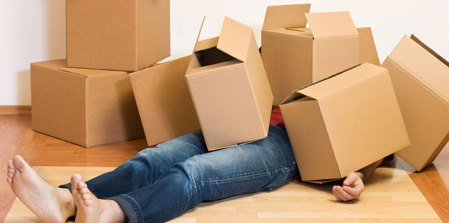 Moving out doesn't have to be traumatic. It can even be a fun experience if you get organized. Image Source: The Odissey Online