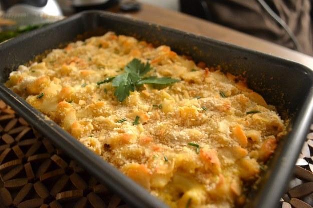 There is plenty of gourmet Mac'n'Cheese around.