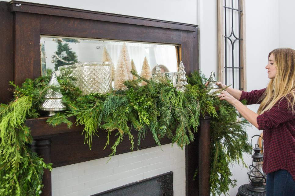 Go natural with adding lots of greenery! Source: HGTV