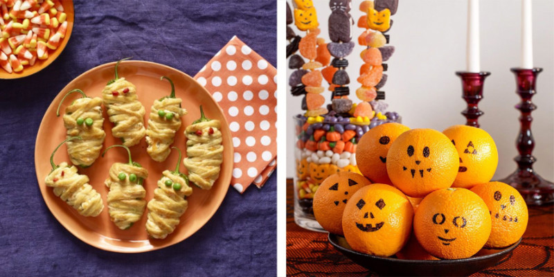 Create themed appetizers for your family! Source: Woman's Day