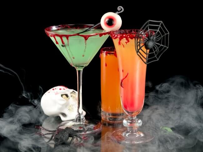 Have fun with themed cocktails! Source: Uproxx