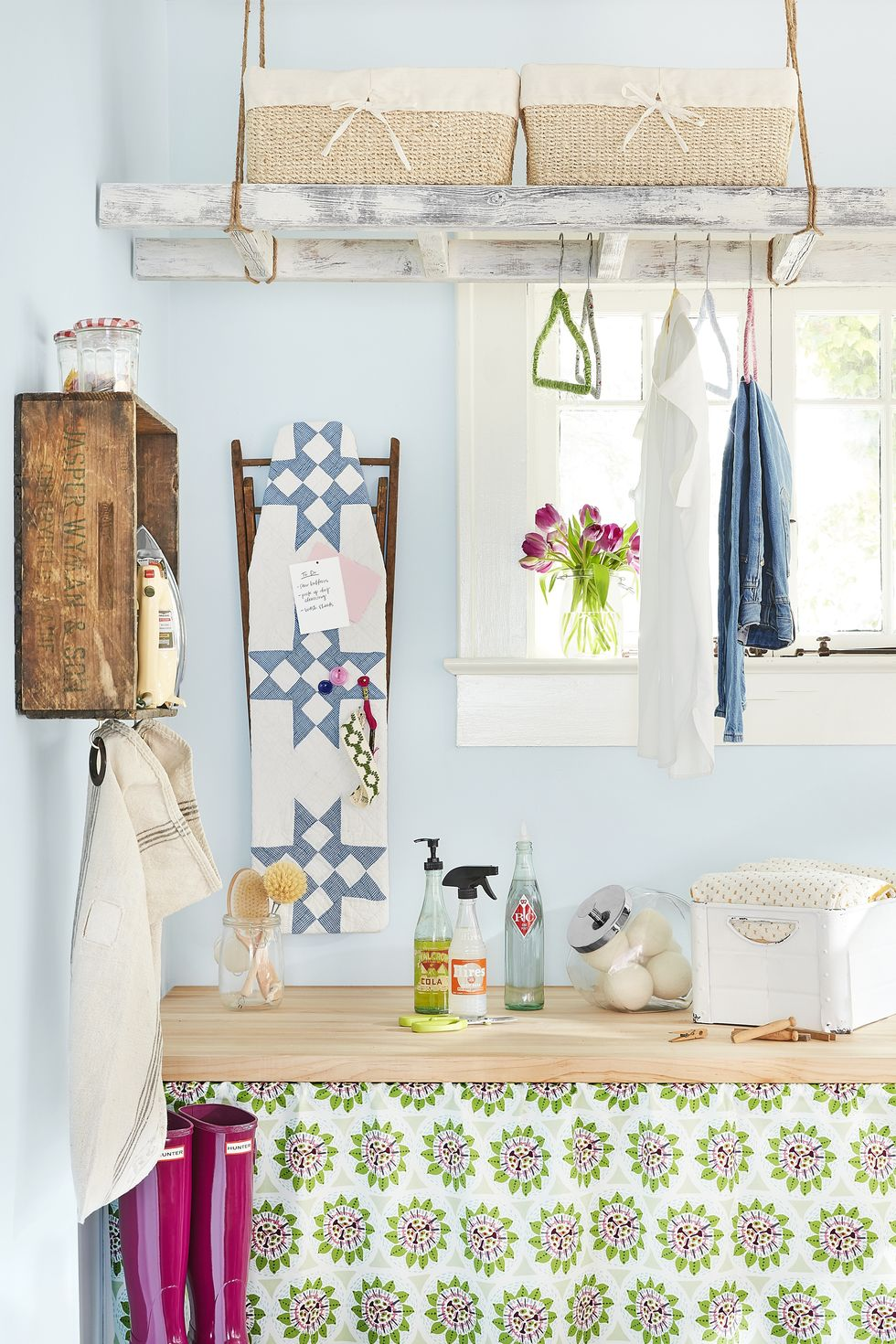 Make sure your laundry room is practical to keep the chore easy!