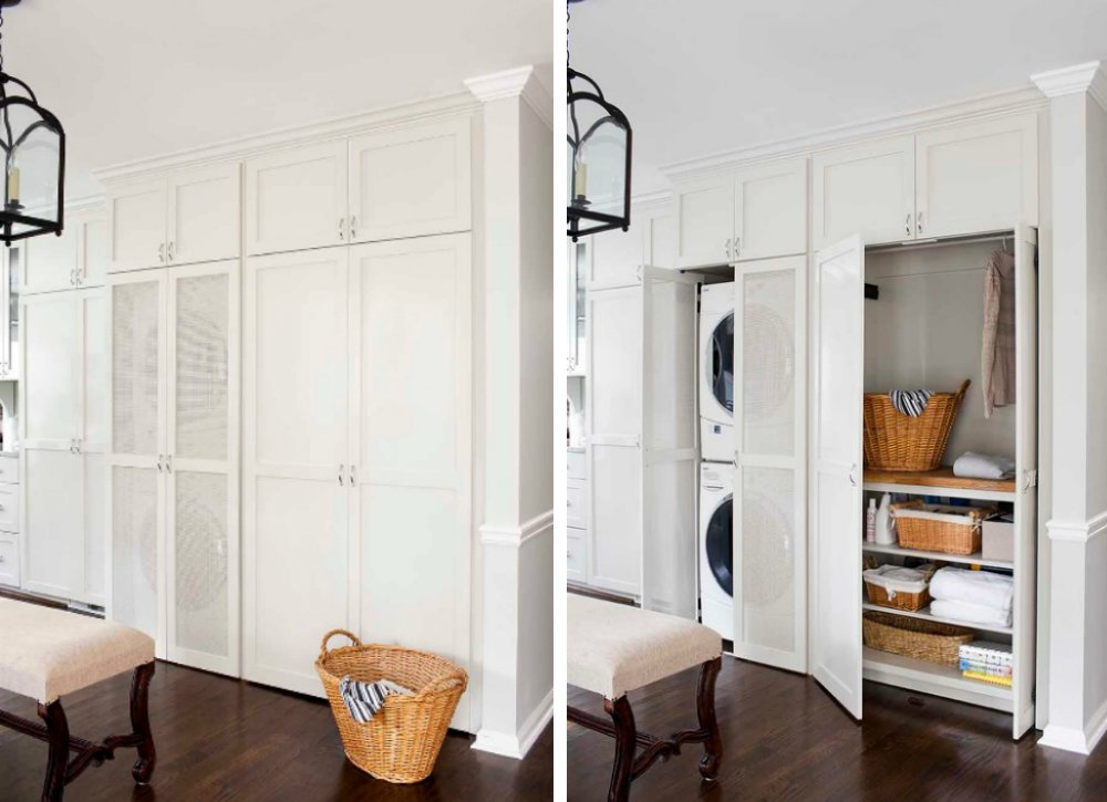 You can also hide your laundry room!