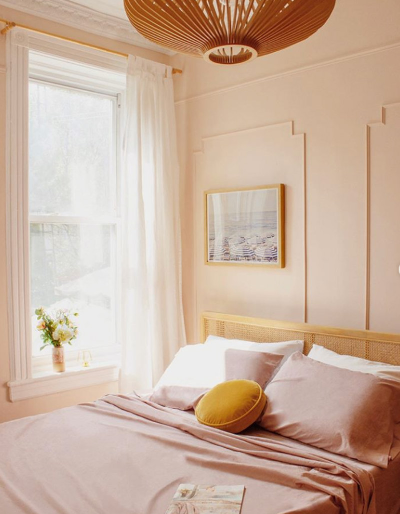 A softer shade of pink can also look great on your walls. Source: Instagram
