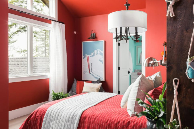 Vibrant and sophisticated. Source: HGTV