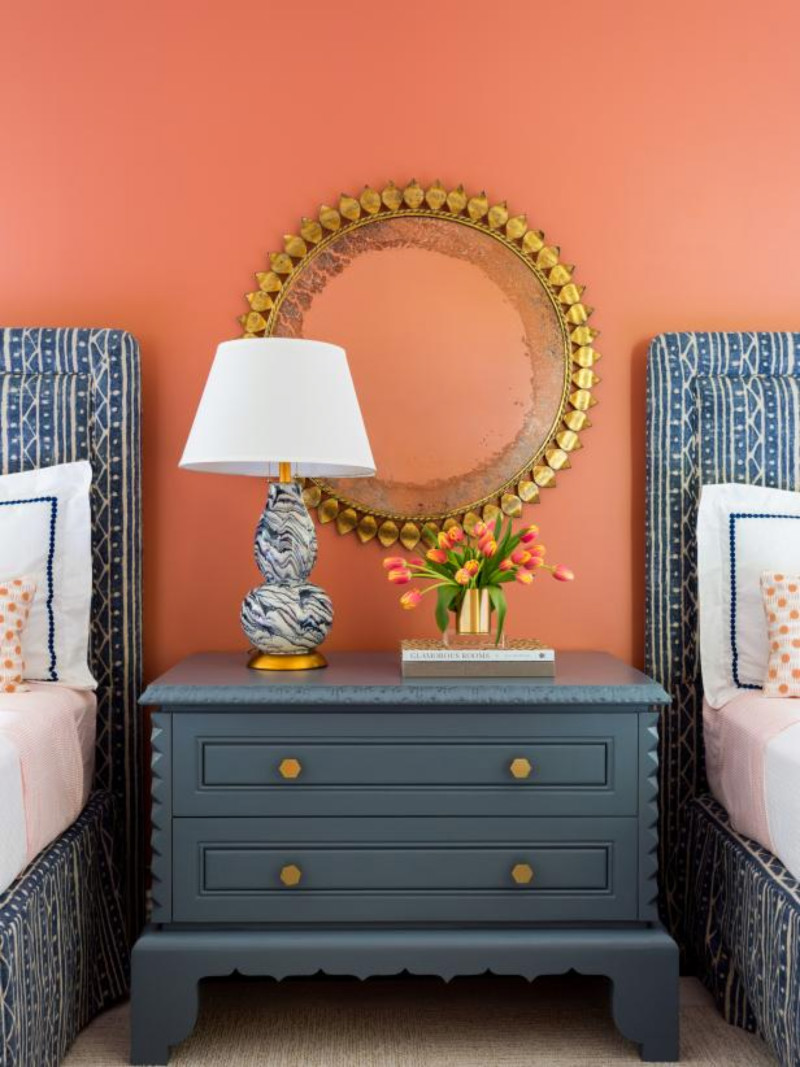 This shade would certainly lift up your mood on any day. Source: HGTV